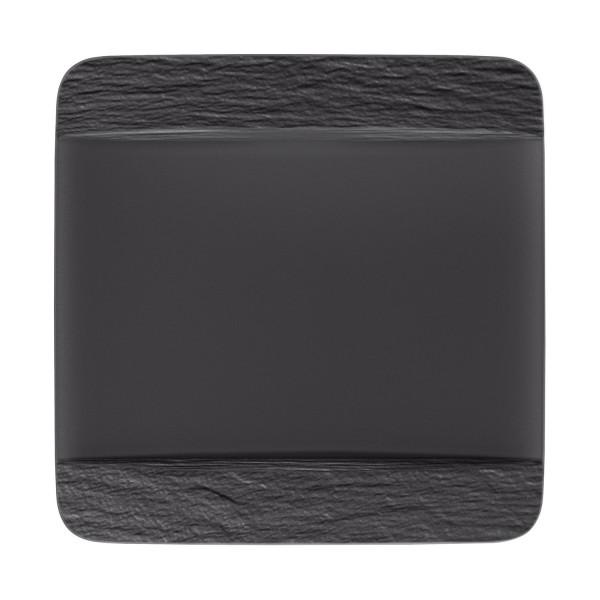 Villeroy & Boch Manufacture Rock Speiseteller quadratisch 28 x 28 cm