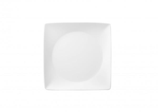 Thomas Sunny Day Weiss Teller quadratisch 23 cm flach