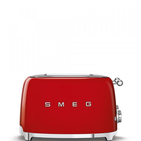 Smeg Retro Toaster 4 Scheiben rot