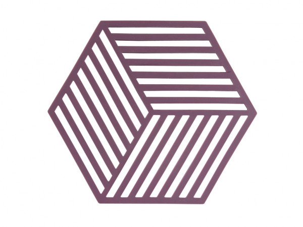 Zone Denmark Topf-Untersetzer Silikon Hexagon Lila