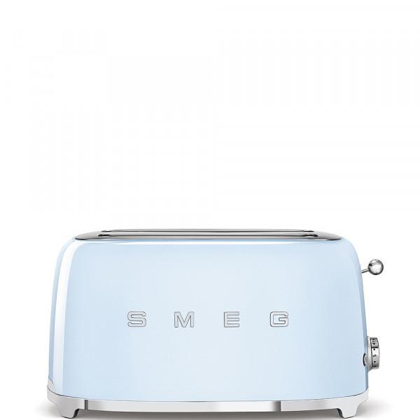 Smeg Retro Toaster 2-Schlitz lang pastellblau