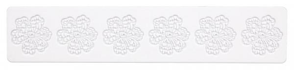 Städter Dekor-Matte Silikon Blüte 39,5 x 8 cm