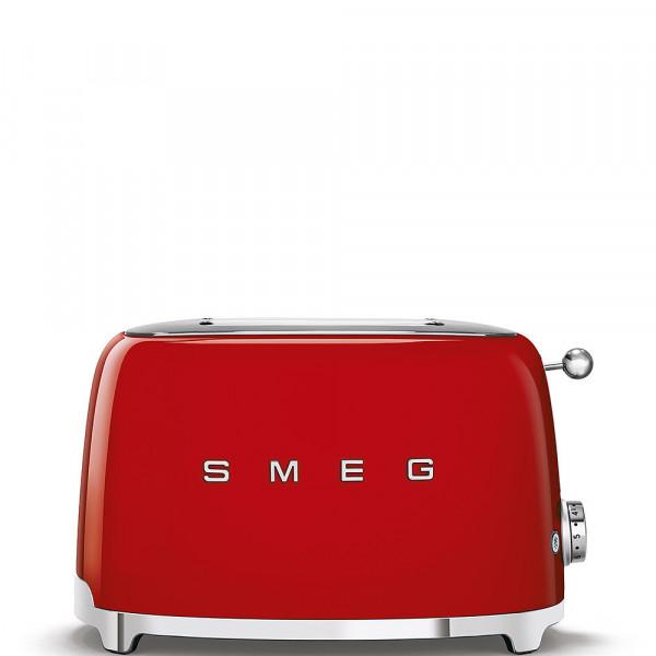 Smeg Retro Toaster 2-Schlitz rot