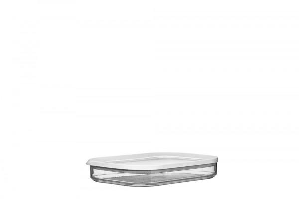 Mepal Modula Kühlschrankdose 550/1 ml Aufschnitt weiss