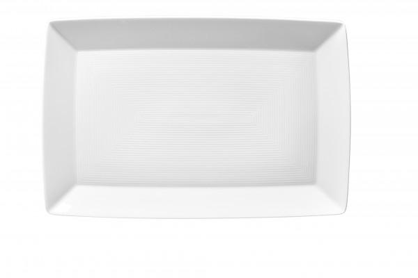 Thomas Trend Weiss Platte eckig 28 cm