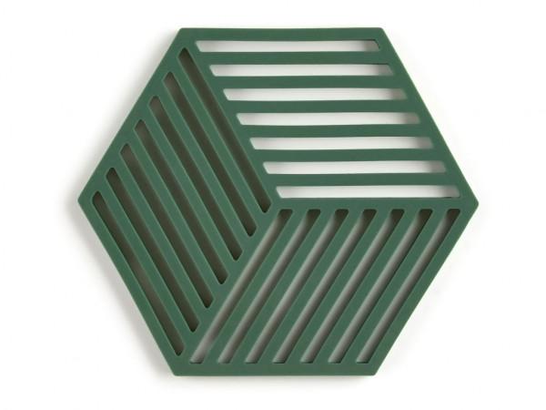 Zone Denmark Topf-Untersetzer Silikon Hexagon Grün