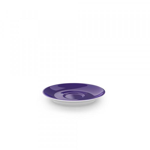 Dibbern Solid Color violett Espresso Untertasse Classico