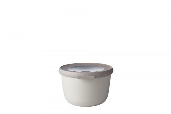 Mepal Cirqula Multi Bowl Vorratsdose mit Deckel 500 ml nordic white