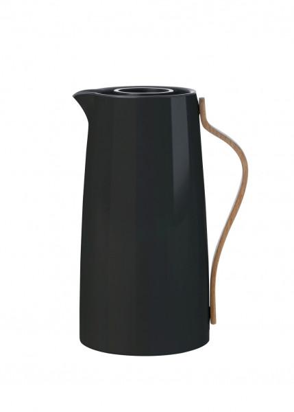 Stelton Emma Isolierkanne schwarz Kaffee 1,2 l