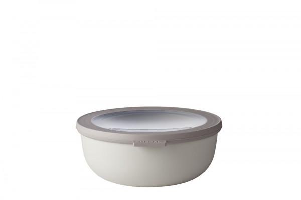 Mepal Cirqula Multi Bowl Vorratsdose mit Deckel 1250 ml nordic white