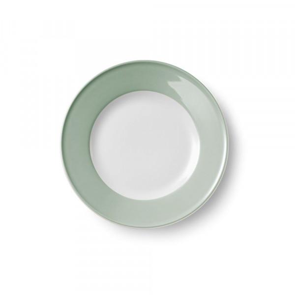 Dibbern Solid Color salbei Teller flach 21 cm Fahne