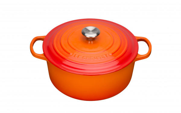 Le Creuset Gusseisen ofenrot Bräter rund 20 cm