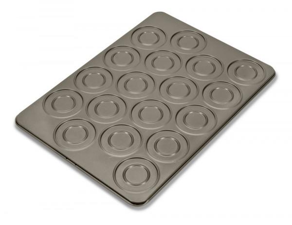 Städter Whoopie & Macaron-Form für 18 Stück
