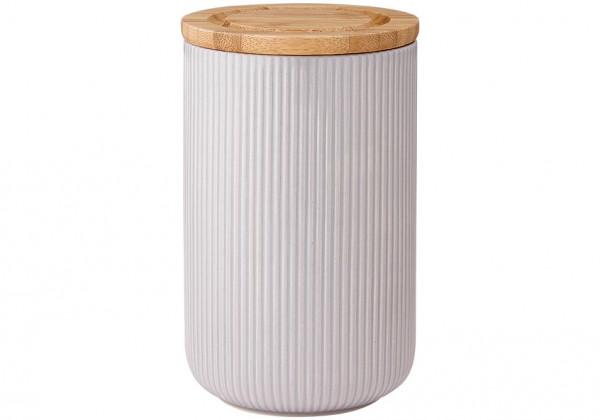 Ladelle Stak Textured Grau Vorratsdose 17 cm