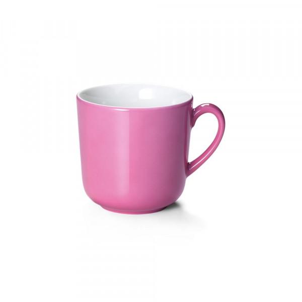 Dibbern Solid Color pink Becher mit Henkel 0,32 l