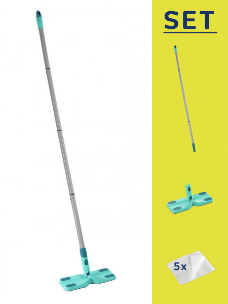 Leifheit Clean & Away Bodenwischer-Set 3-tlg.