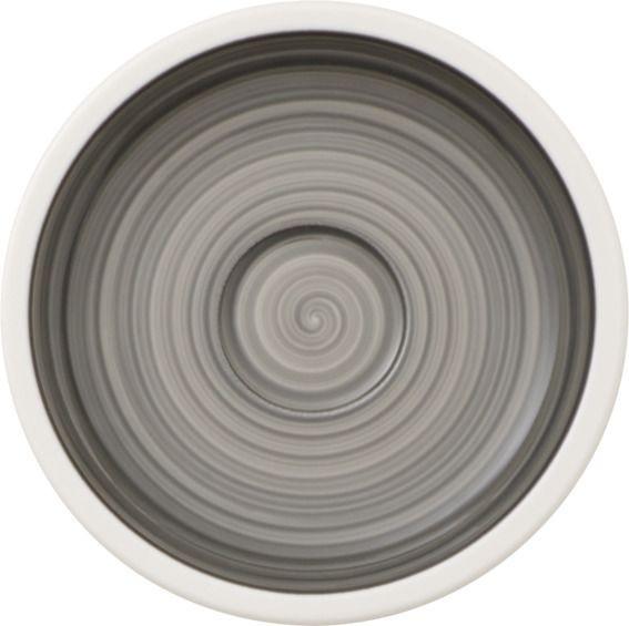 Villeroy & Boch Manufacture Gris Mokka- / Espresso-Untertasse 12 cm