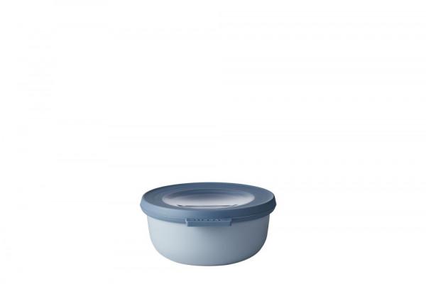 Mepal Cirqula Multi Bowl Vorratsdose mit Deckel 350 ml nordic blue