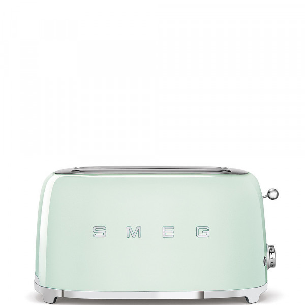 Smeg Retro Toaster 2-Schlitz lang pastellgrün