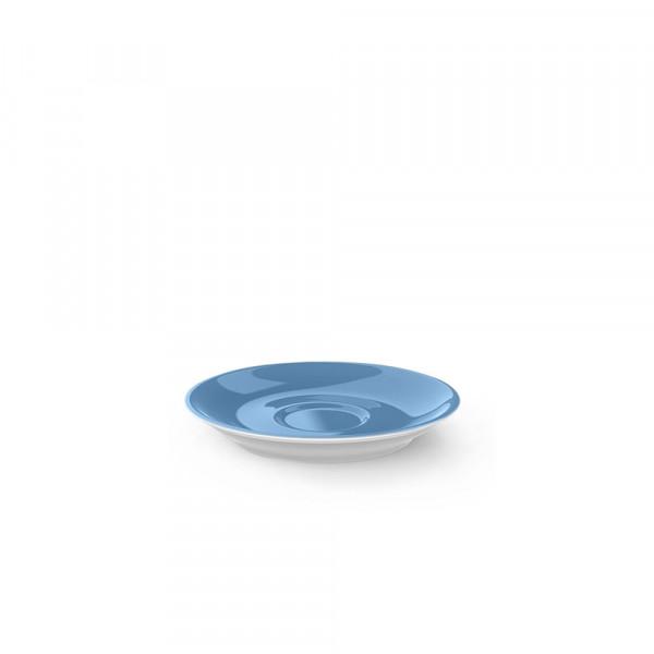 Dibbern Solid Color vintage blue Espresso Untertasse Classico