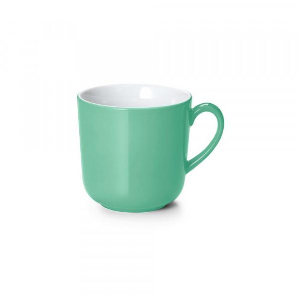 Dibbern Solid Color smaragd Becher mit Henkel 0,32 l