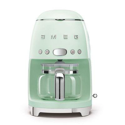 Smeg Retro Filterkaffeemaschine pastellgrün