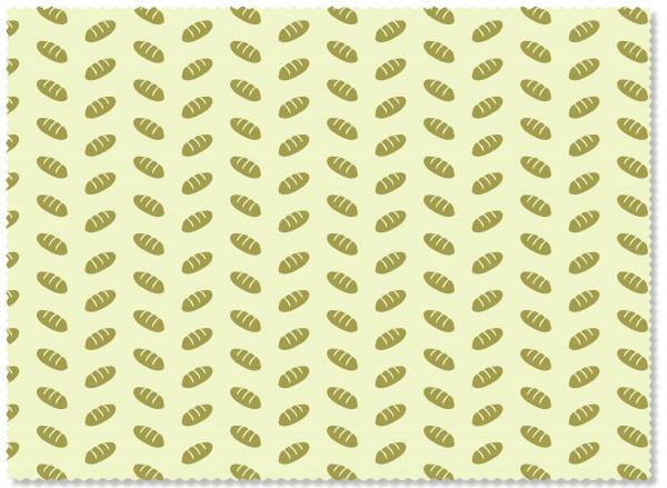Nuts Innovations Bienenwachs Wrap KKL-Tuch 43x58 cm Dekor Brot