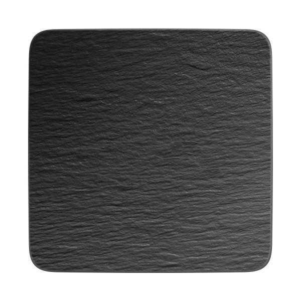 Villeroy & Boch Manufacture Rock Servierplatte quadratisch 32 x 32 cm