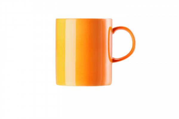 Thomas Sunny Day Orange Becher mit Henkel groß