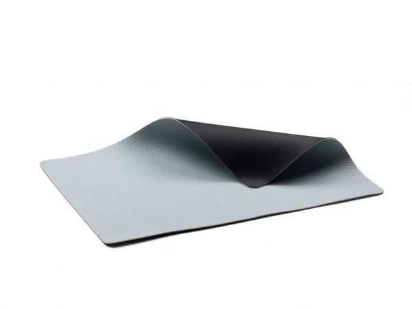 Bitz Tisch-Set 4er-Set schwarz / blau 46x33 cm