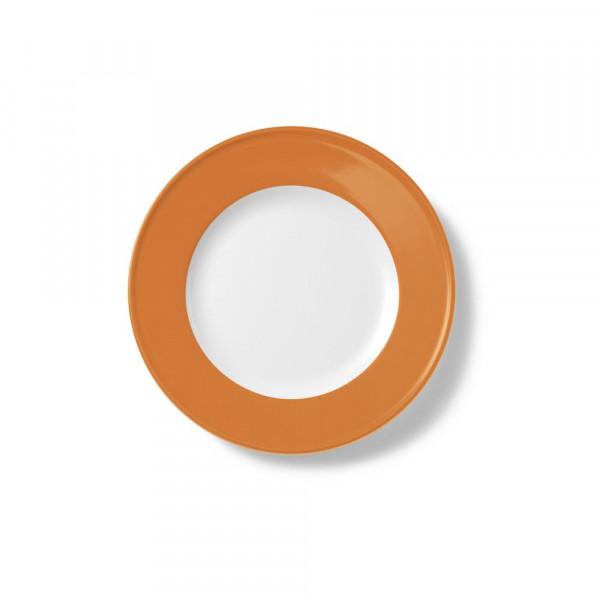 Dibbern Solid Color orange Teller flach 19 cm Fahne