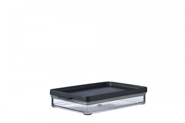 Mepal Omnia Black Kühlschrankdose Aufschnitt