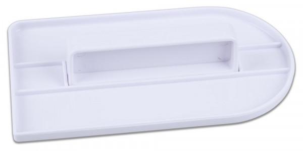 Städter Profi-Modellierwerkzeug Fondant-Glätter 8x16 cm weiß