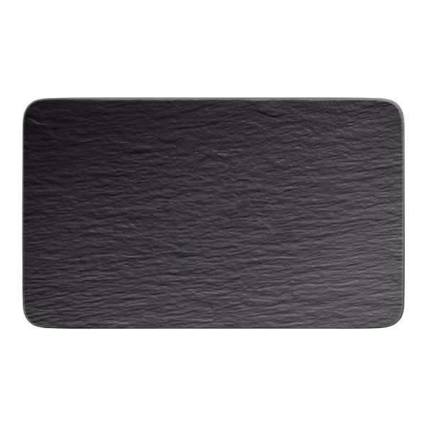 Villeroy & Boch Manufacture Rock Multifunktions-Teller rechteckig 28 x 17 cm