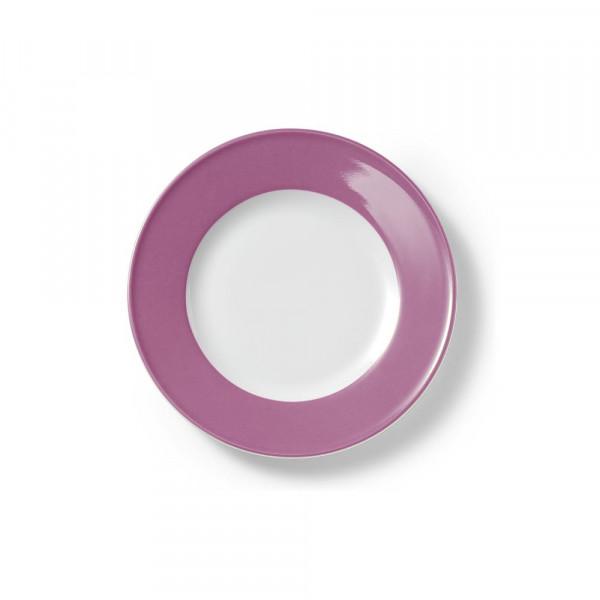Dibbern Solid Color Pink Teller flach 19 cm Fahne