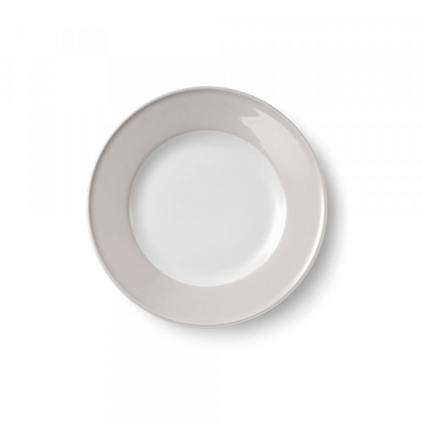 Dibbern Solid Color Pearl Teller flach 21 cm Fahne