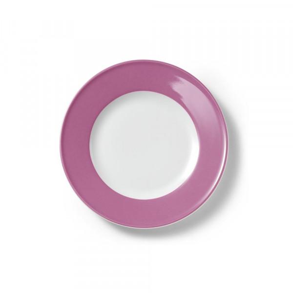 Dibbern Solid Color pink Teller flach 21 cm Fahne