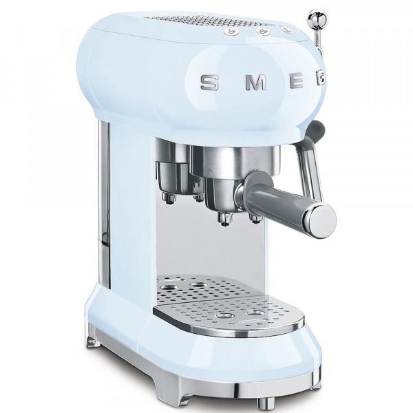 Smeg Retro Espressomaschine pastellblau