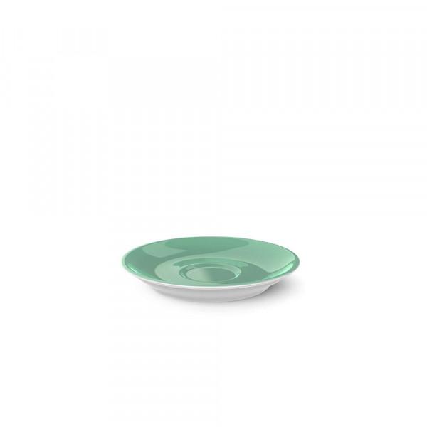 Dibbern Solid Color smaragd Espresso Untertasse Classico