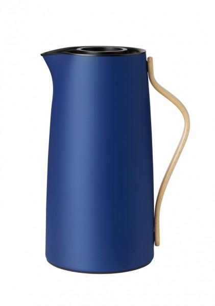 Stelton Emma Isolierkanne Kaffee 1,2 l dark blue
