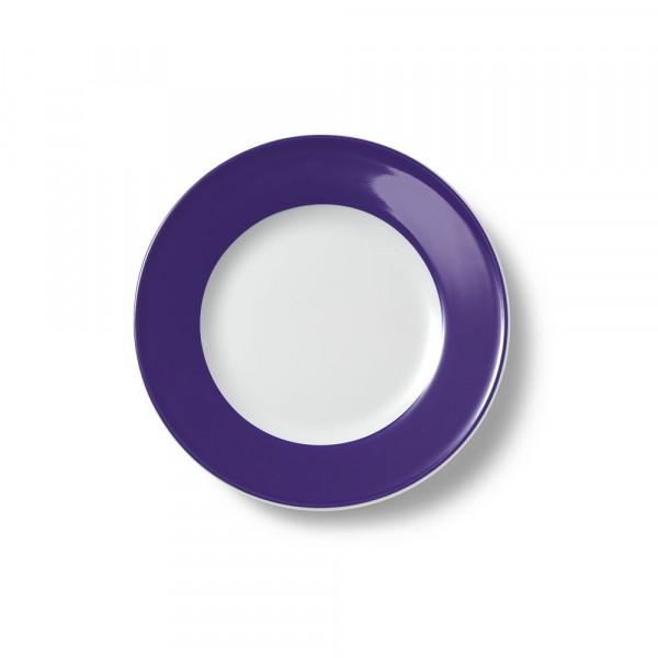 Dibberm Solid Color violett Teller flach 21 cm Fahne