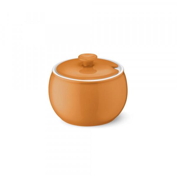 Dibbern Solid Color orange Zuckerdose 0,30 l