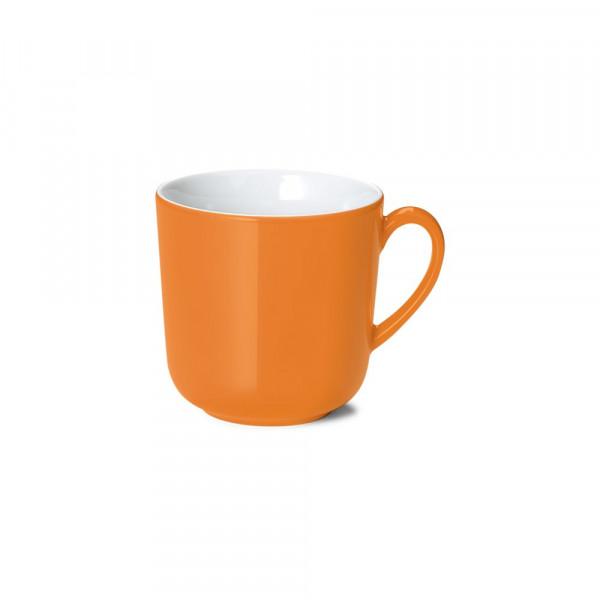 Dibbern Solid Color orange Becher mit Henkel 0,32 l