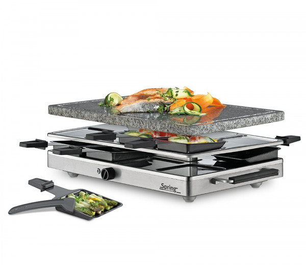 Spring Classic Raclette mit Granit-Stein