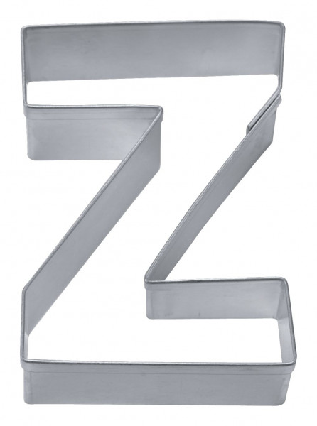 Städter Ausstecher Edelstahl Buchstabe Z 6,5 cm