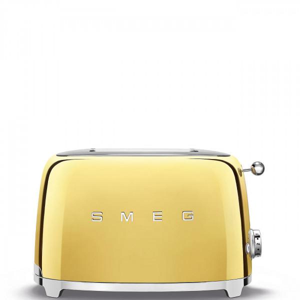 Smeg Retro Toaster 2-Schlitz gold