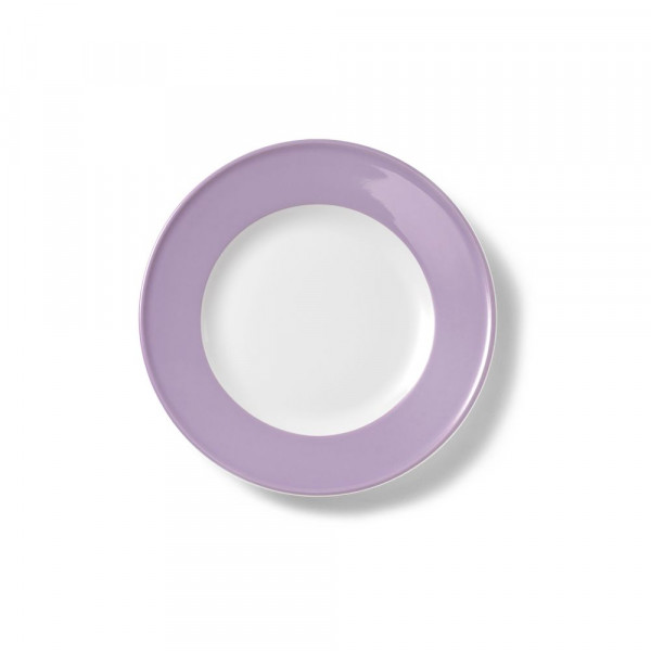 Dibbern Solid Color Flieder Teller flach 19 cm Fahne