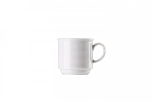 Thomas Trend weiß Kaffee-Obertasse stapelbar
