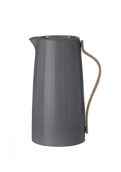 Stelton Emma Isolierkanne Kaffee 1,2 l grau