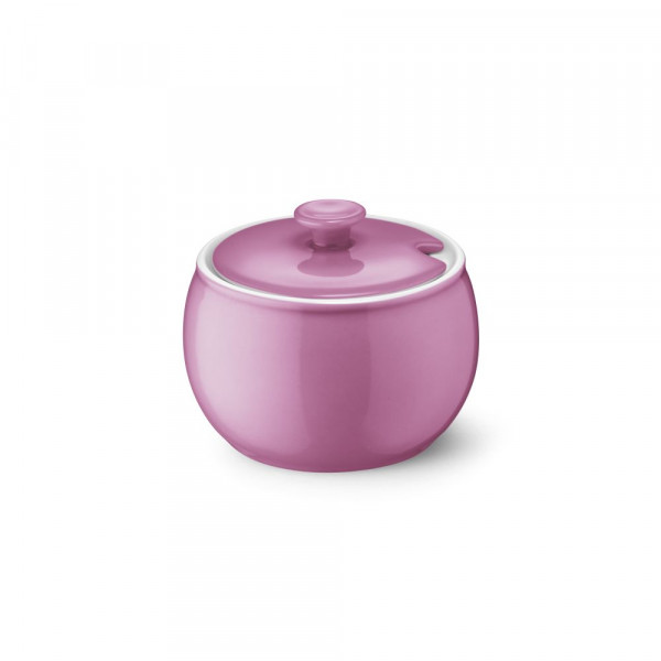 Dibbern Solid Color pink Zuckerdose 0,30 l